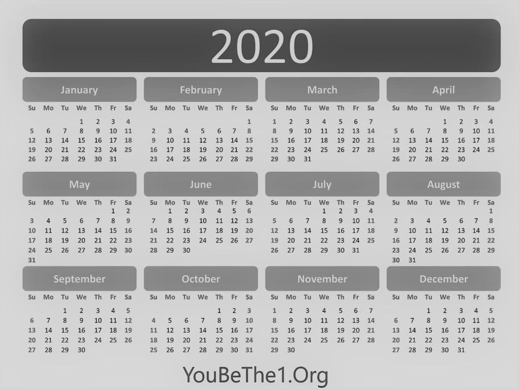 Calendar YB1